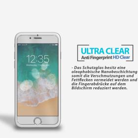 Voll Display Schutz Glas Huawei P10 Handy Panzerglas Folie Echt Glas 9H Panzerfolie Color Glas