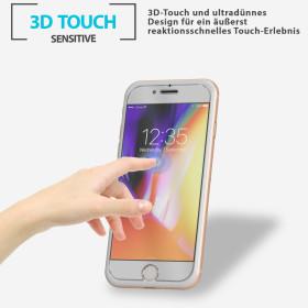 Huawei P10 Lite Voll Display Schutz Glas Handy Panzerglas Folie Schwarz Echt Glas 9H Panzerfolie Color Glas