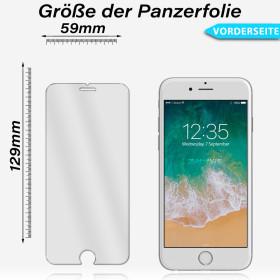 Samsung Galaxy S6 Edge Curve 3D Panzerglas Folie Displayschutz Schutzglas 9H Glass