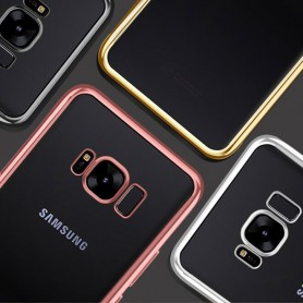 Silicone Case for Galaxy S9 Phone Slim Cover Etui Motiv Vintage Style